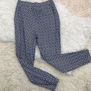 Boden women's geometric joggers size medium size 8
